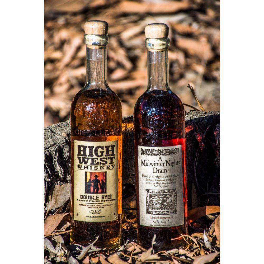 American Prairie Bourbon & A Midwinter Nights Dram Bundle Bourbon High West Distillery