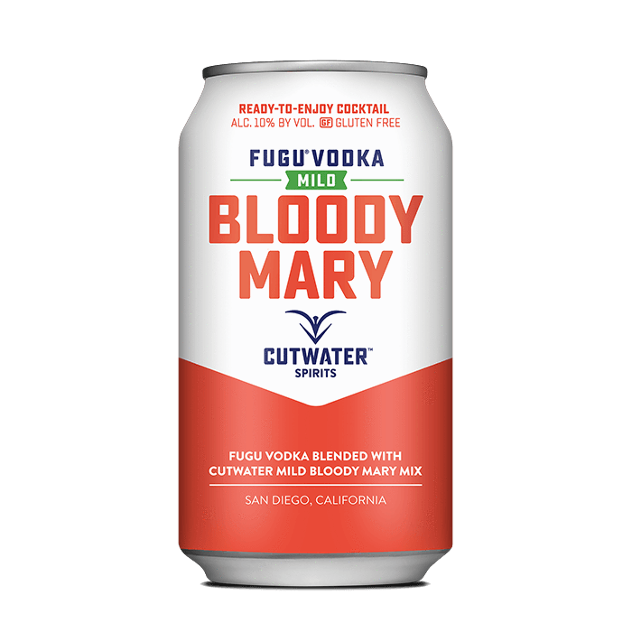 Mild Bloody Mary (4 Pack - 12 Ounce Cans) Canned Cocktails Cutwater Spirits