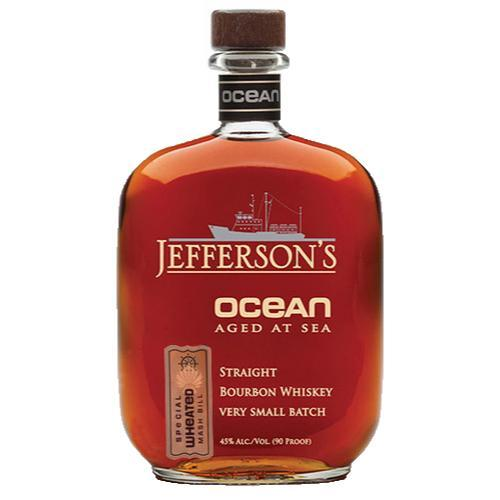 Jefferson's Ocean Special Wheated Mashbill Voyage 15 Bourbon Jefferson's