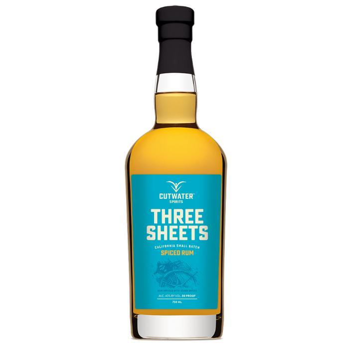 Three Sheets Spiced Rum Rum Cutwater Spirits