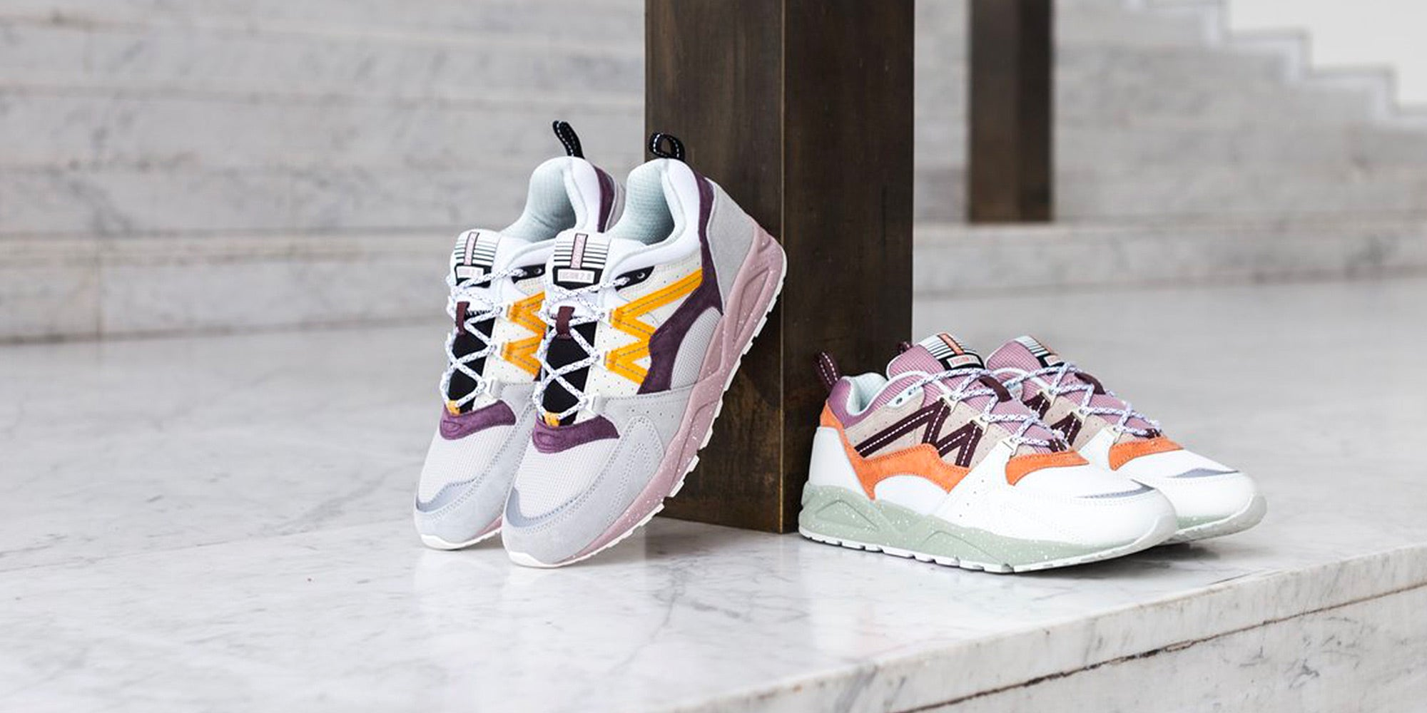 Karhu Fusion 2.0 Speckled Pack Disponible à Milk Store Nantes.
