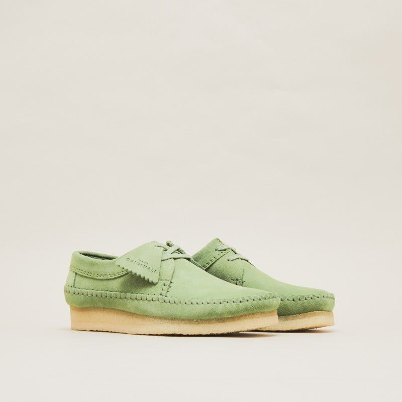 "Clarks Originals Weaver ""Cactus Green"" (26139184)"