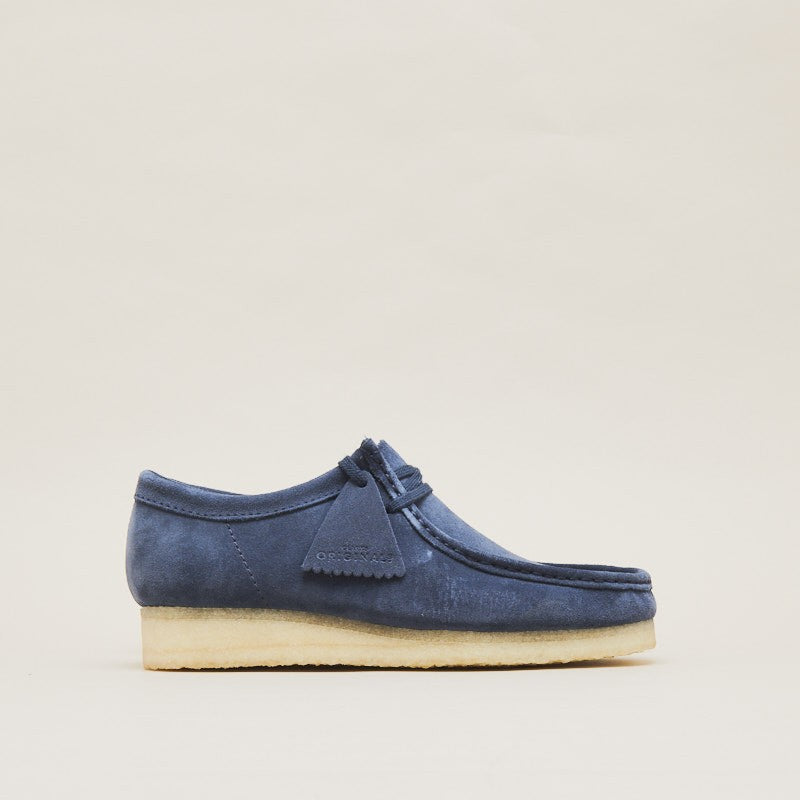 "Clarks Originals Wallabee ""Deep Blue"" (2614097570)"