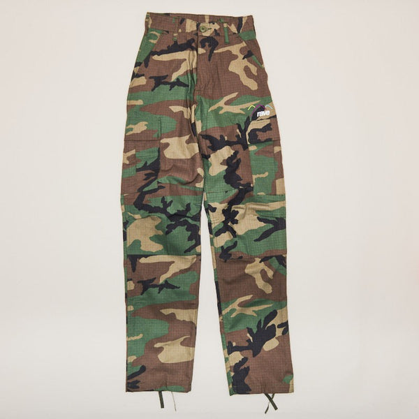 Rave Skateboards Summit Cargo Pant Camo