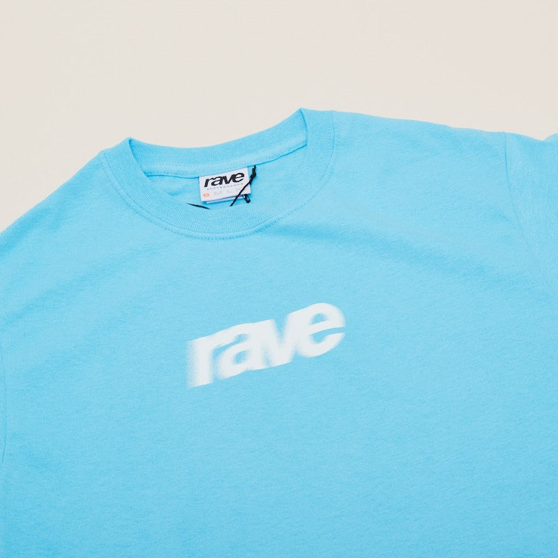 Rave Skateboards Blurry Logo Tee
