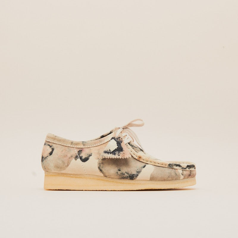 Clarks Wallabee Off White Camouflage (26148590)