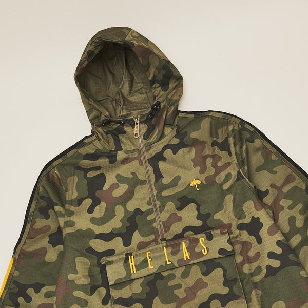Hélas Gang Hooded Jacket Camo