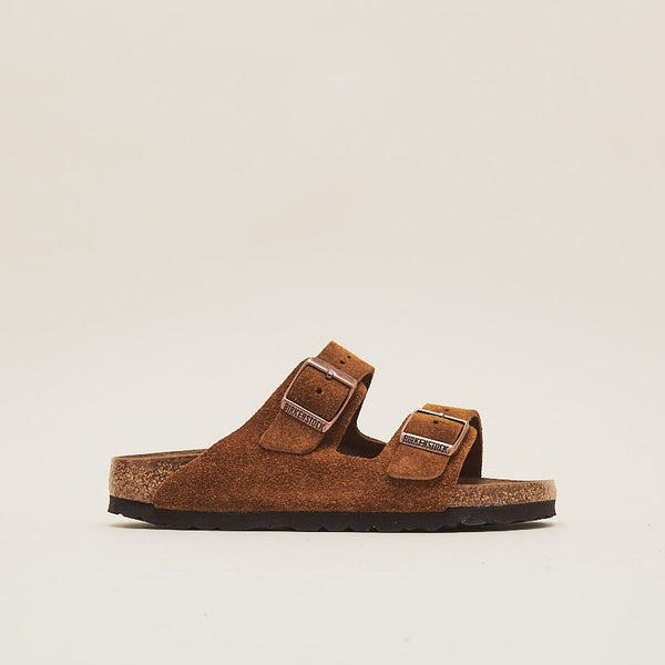 Birkenstock Women Arizona Suede Leather Mink (1009527)