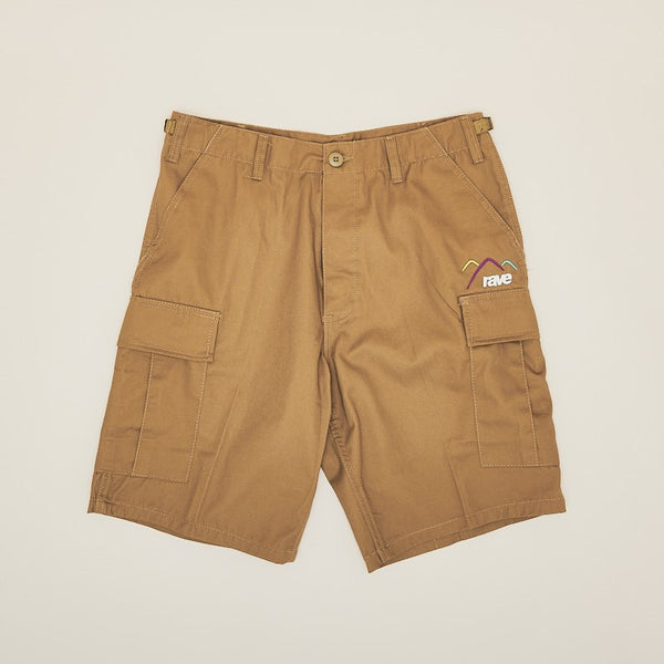 Rave Skateboards Summit Cargo Short Light Brown