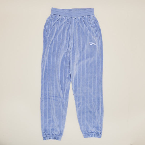 Polar Skate Co Velour Sweat Pants Faded Violet