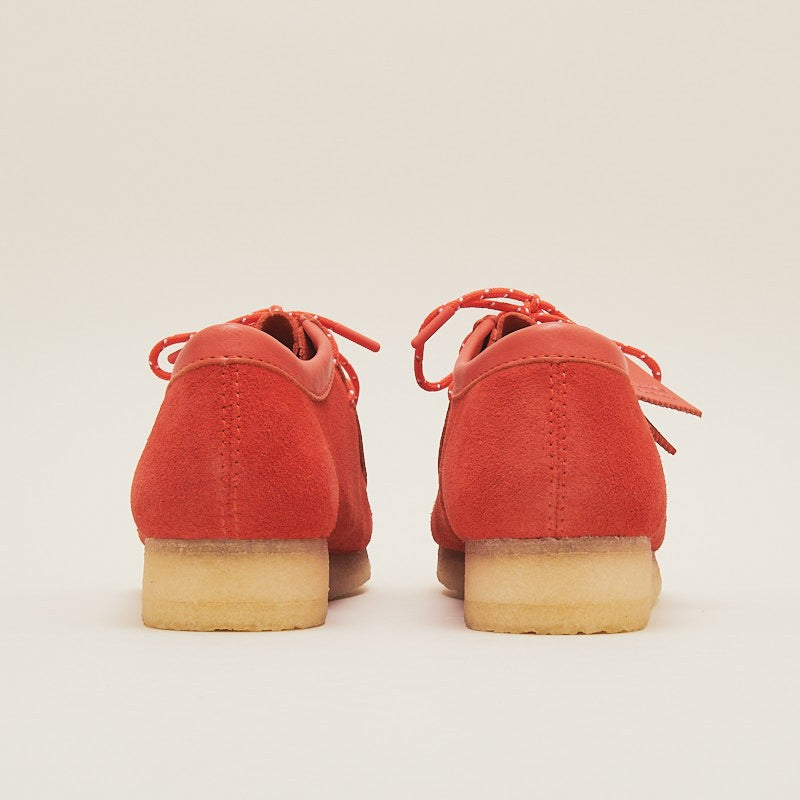 CLARKS ORIGINALS WALLABEE RED COMBI SUEDE (26151267)