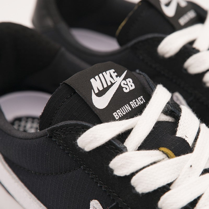 NIKE SB BRUIN REACT (BLACK/WHITE) (CJ1661-001)