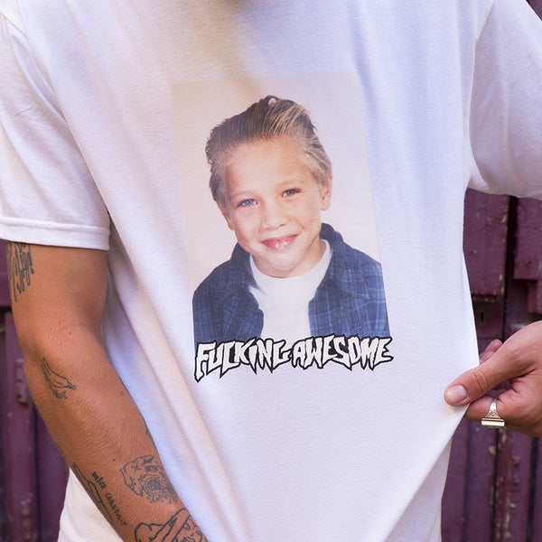 FUCKING AWESOME VINCENT CLASS PHOTO TEE (WHITE)