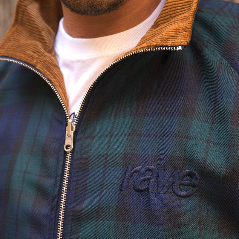 RAVE SKATEBOARDS SPIKE CORD REVERSIBLE JACKET