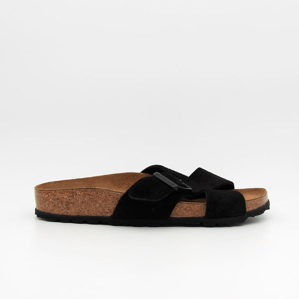 Birkenstock Mules Siena Suede Leather Black