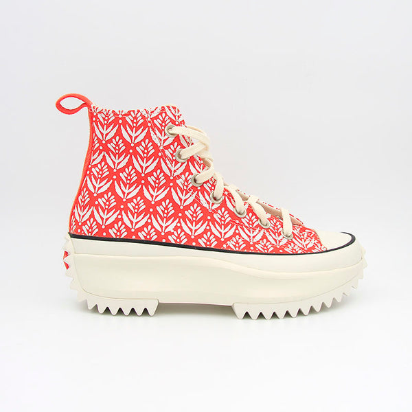Converse Run Star Hike Hi Red/White