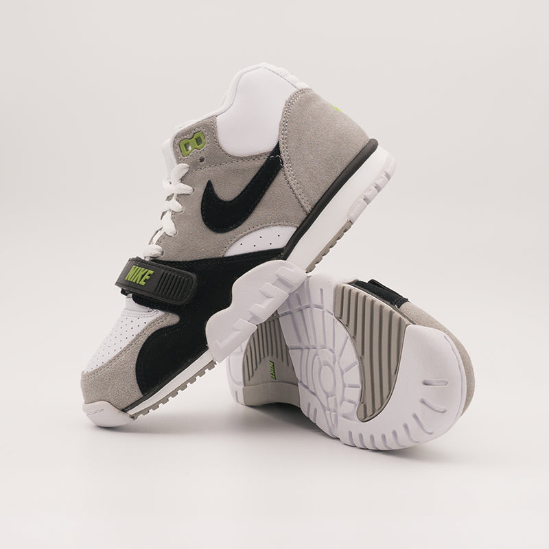 "NIKE SB AIR TRAINER 1 MID ISO (ORANGE LABEL) ""CHLOROPHYLL"" (CW8604-001)"