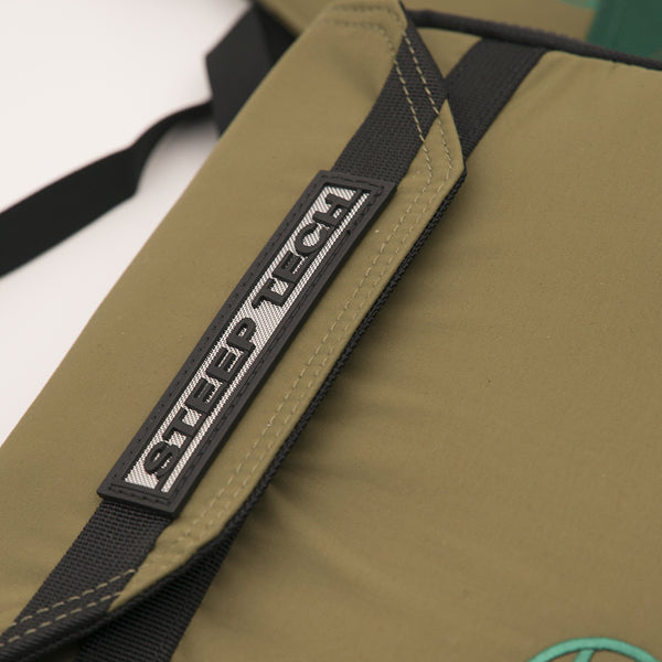 THE NORTH FACE CHEST PACK STEEP TECH (BURNT OLIVE GREEN/TNF BLACK)