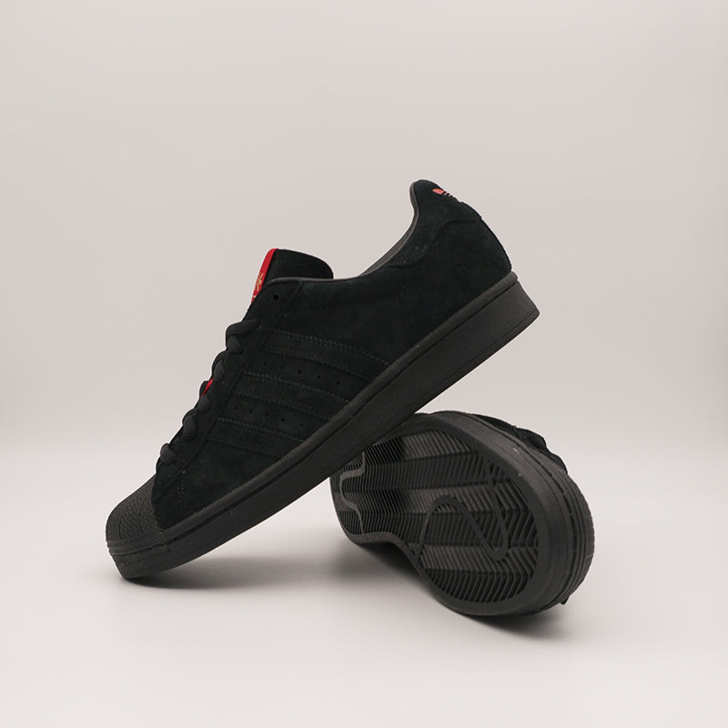Thrasher x Adidas Skate Superstar ADV (Black)(FY9025)