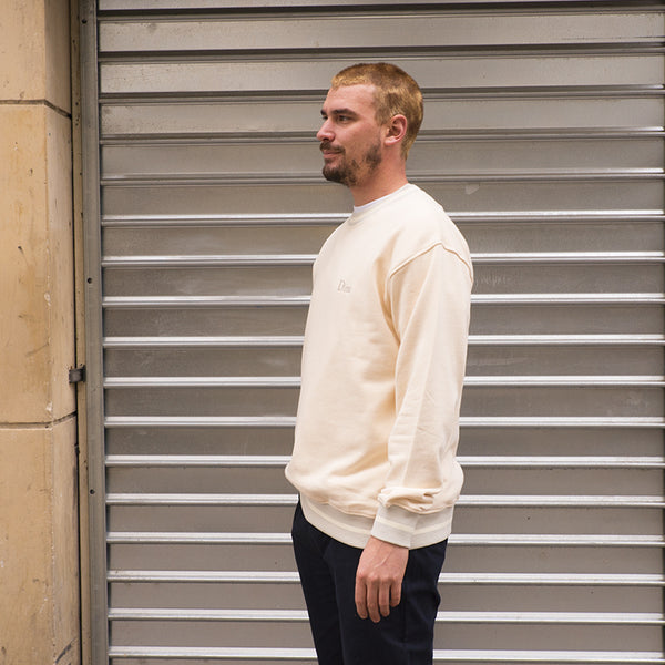 Dime Mtl French Terry Crewneck (Cream)