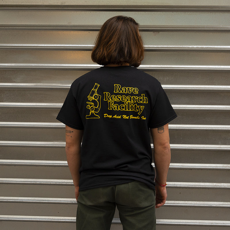 Rave Research Facility Tee (Black)