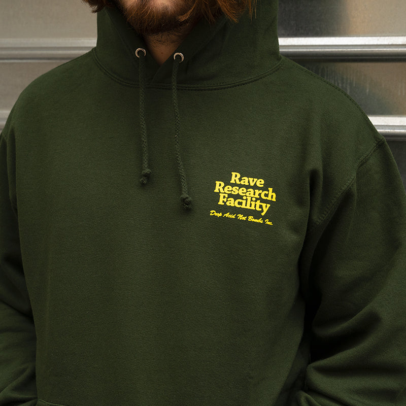 Rave Research Facility Hoodie (Forest)
