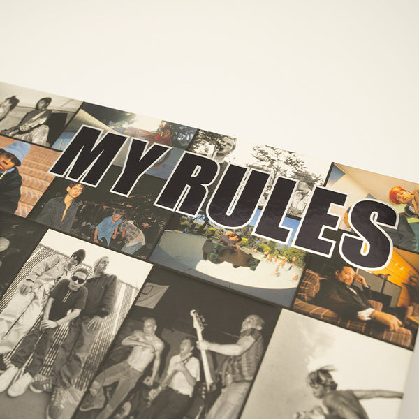 "Glen E. Friedman Book ""My Rules"""