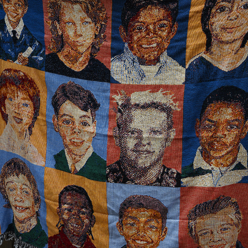 Fucking Awesome Felt Class Photo Blanket