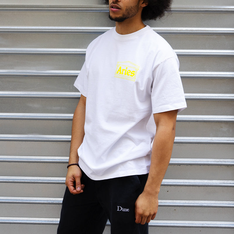 Aries Temple SS tee White