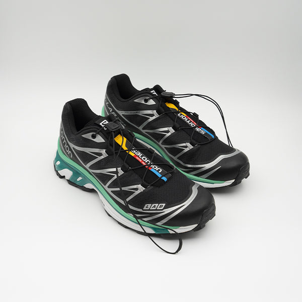 Salomon XT-6 Black/White/Mint Leaf L41317000