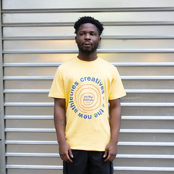 The New Originals CATNA New Graphic Tee Yellow