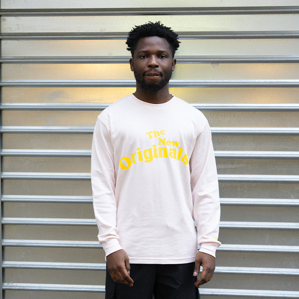 The New Originals Workman LS Tee Pink