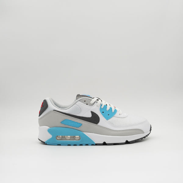 Nike Air Max 90 White/Iron grey/Chlorine blue (CV8839-100)