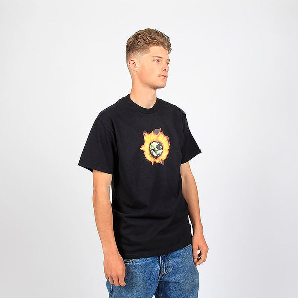 Fucking Awesome Angel Burn Tee Black