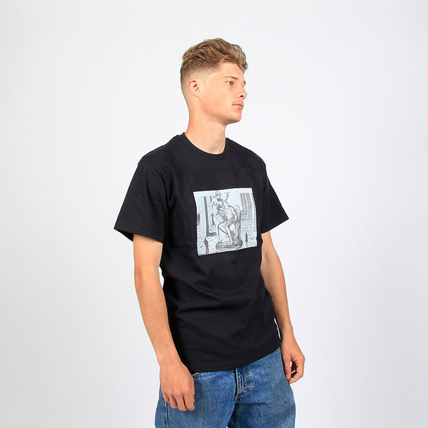 Fucking Awesome Perspective Statue Tee Black