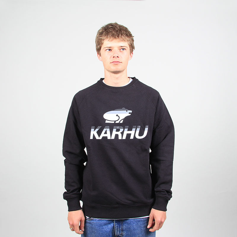 Karhu Team College Sweatshirt Black/MC