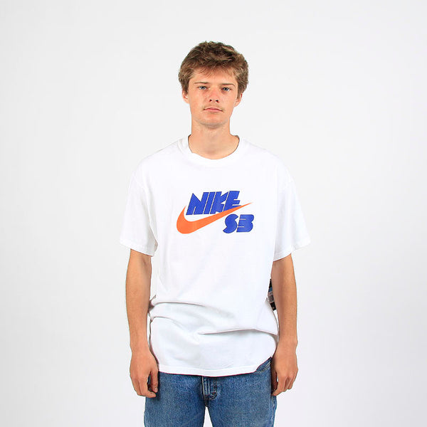 Nike SB Seasonal Baby Teeth Logo Tee White