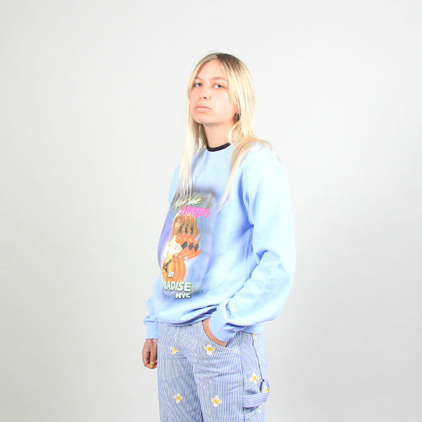 Paradise NYC New Wave Hookers Crew Light Blue