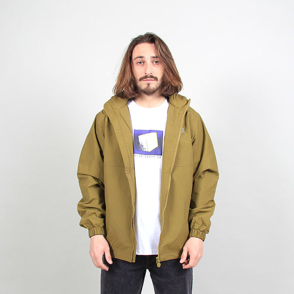 Polar Skate Co Coach Jacket - Green Brown
