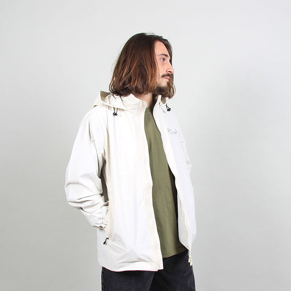 Polar Skate Co Coach Jacket - Oyster White