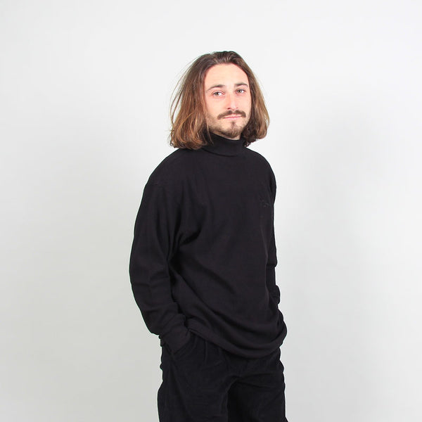 Polar Skate Co Shin Turtleneck Longsleeve Black