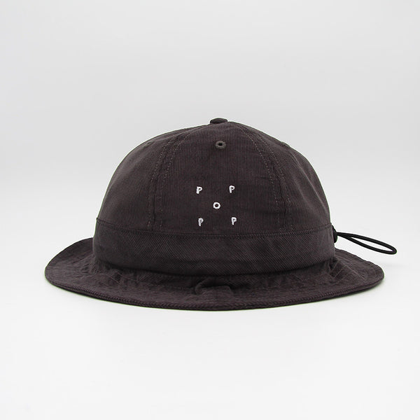 Pop Trading Company Bell Hat Anthracite Minicord