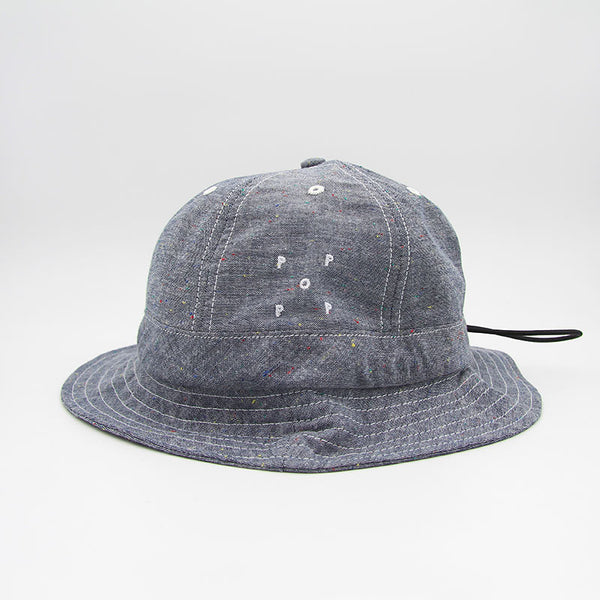 Pop Trading Company Bell Hat Chambray
