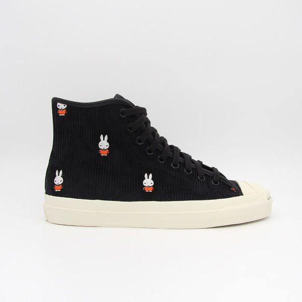 "Pop Trading Company x Converse Jack Purcell Pro Hi ""Miffy"" Black/White/Egret"