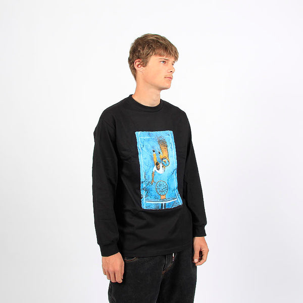 Quasi Skateboards Henry Game 7 LS Tee Black