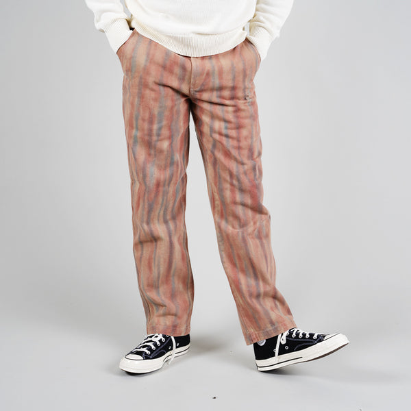 Stussy Dyed Uniform Pant Rust 116479