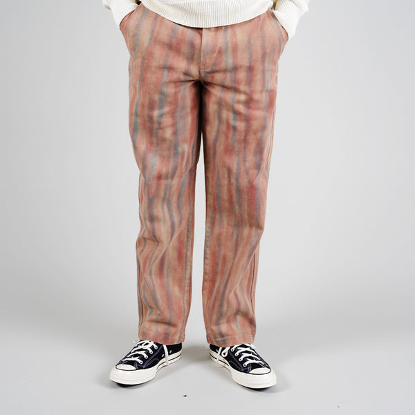 Stussy Dyed Uniform Pant Rust 116479 2