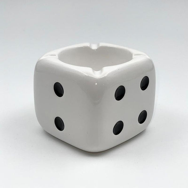 Stussy Ceramic Dice Ashtray White
