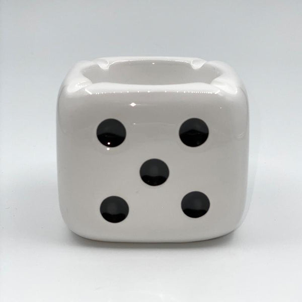 Stussy Ceramic Dice Ashtray White 2