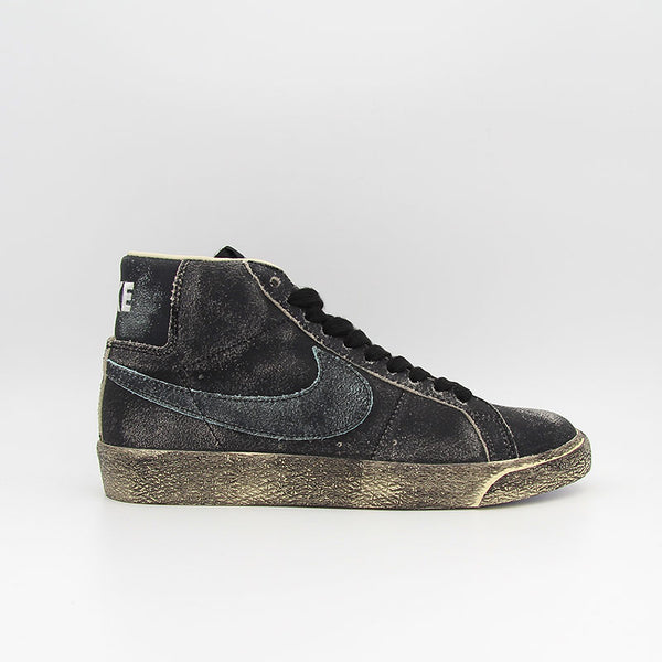 "Nike SB Zoom Blazer Mid Premium ""Faded pack"" Black"